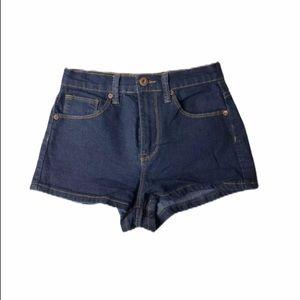 Forever 21 Blue Jean Shorts